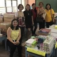 Preparation of medicines for Medical Mission last July 28, 2018