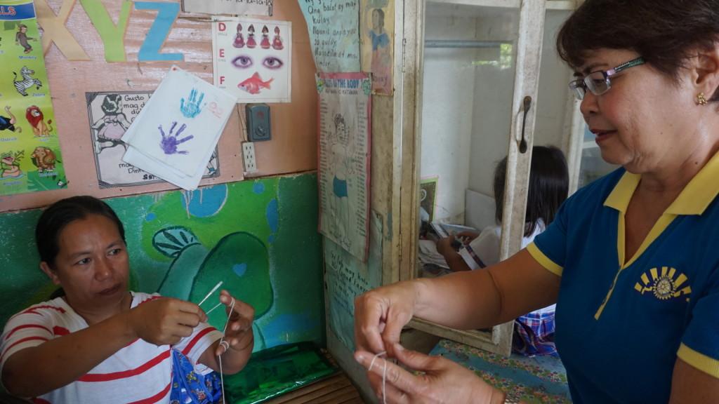 Rotarian teaching